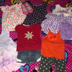 (9) piece 12-18 month small lot